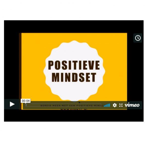 Videolessen positieve mindset